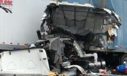 Truck Driver Killed in Crash Involving Multiple 18 Wheeler Trucks on I-20 in Putnam, TX